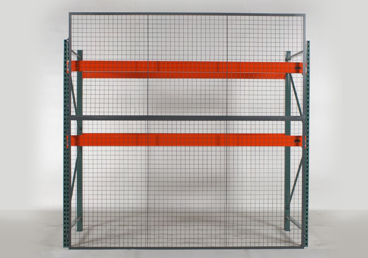 Wire Partition Fencing Rack Back Fencing Warehouse