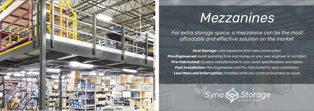 Warehouse Mezzanines for Storage